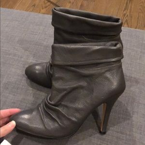 Brand new Bebe Nora grey ankle booties size 8